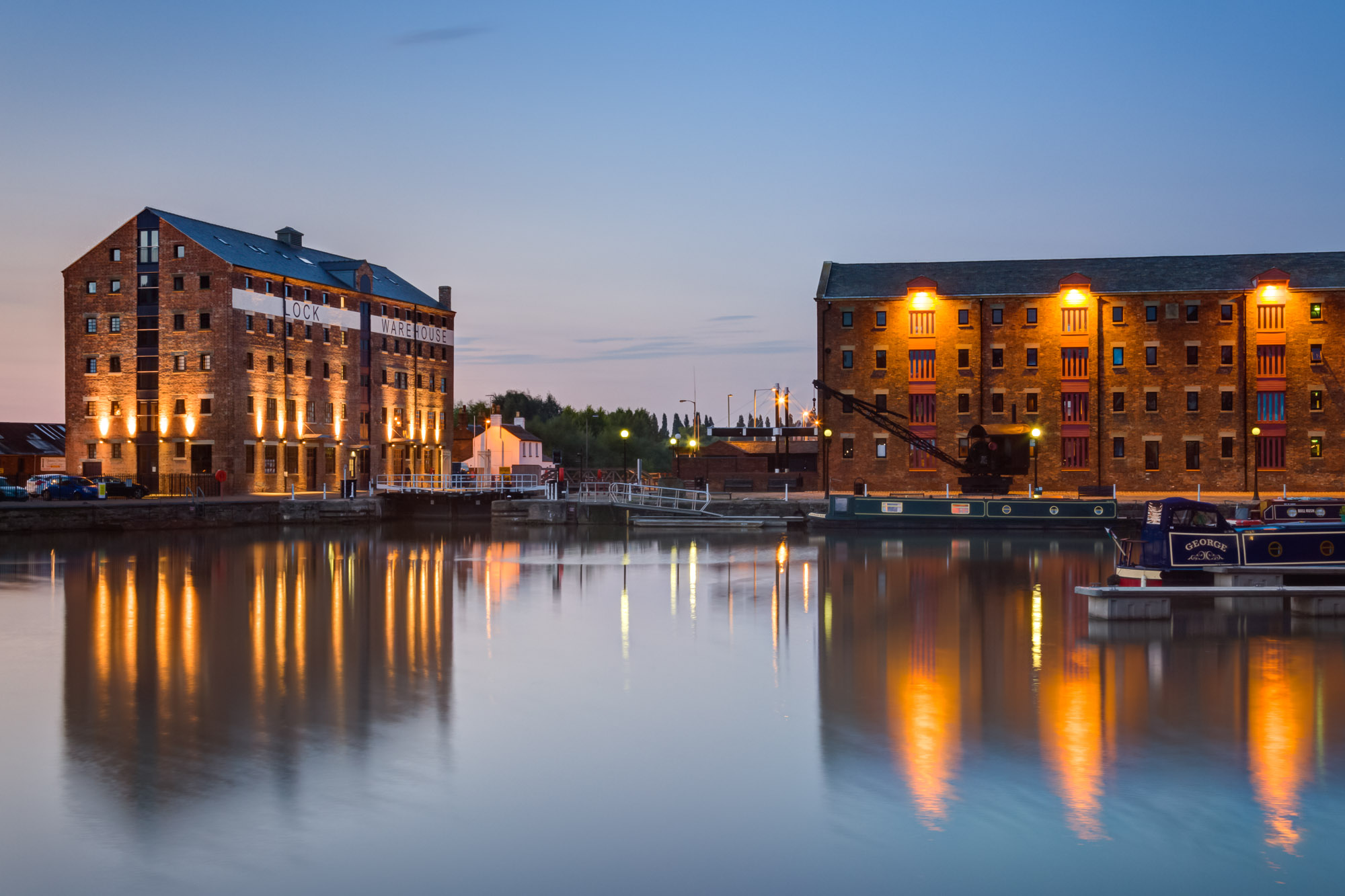 Lock Warehouse, Gloucester Docks a MELT Property residential and commercial development.