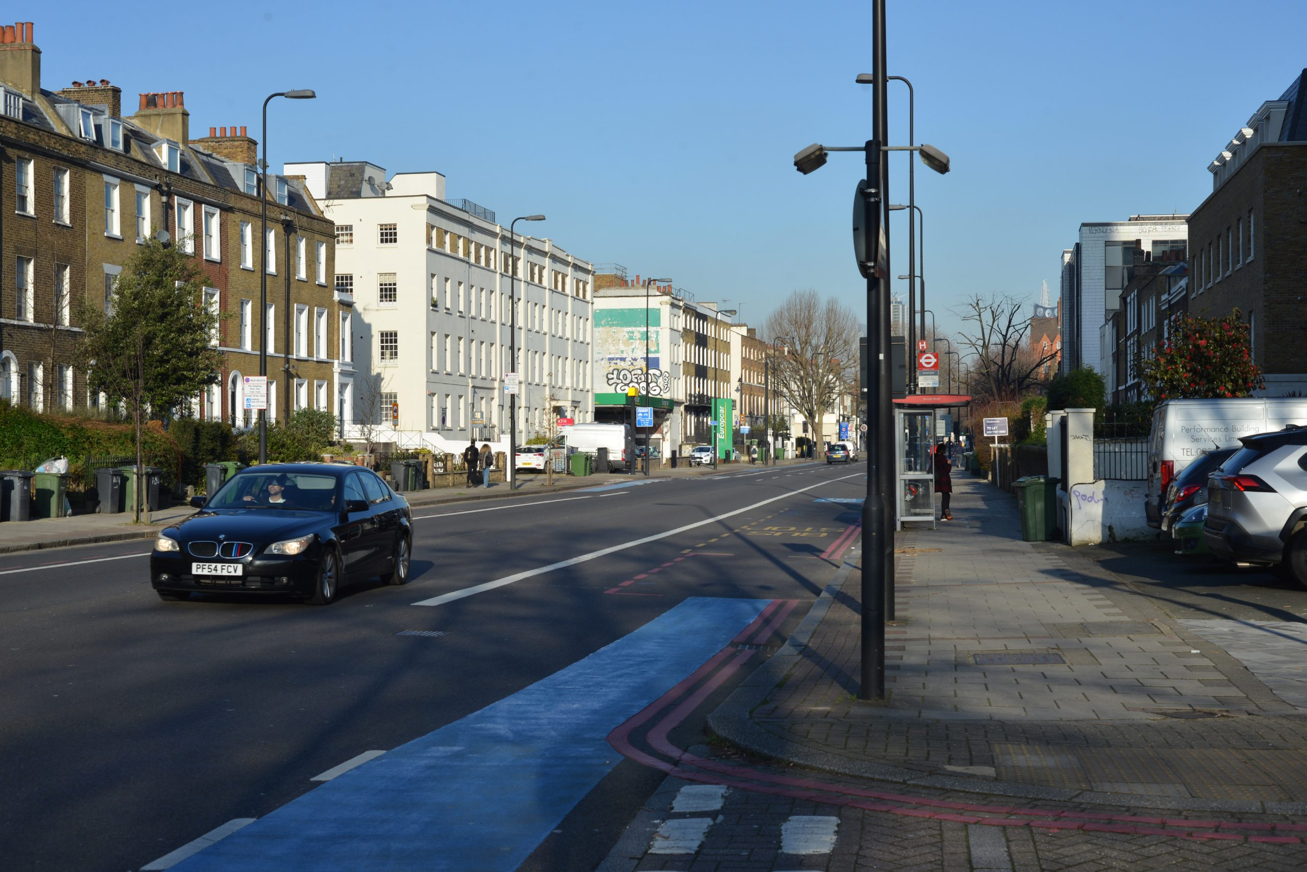 A street view from 68-86 Clapham Road Development by MELT Property.