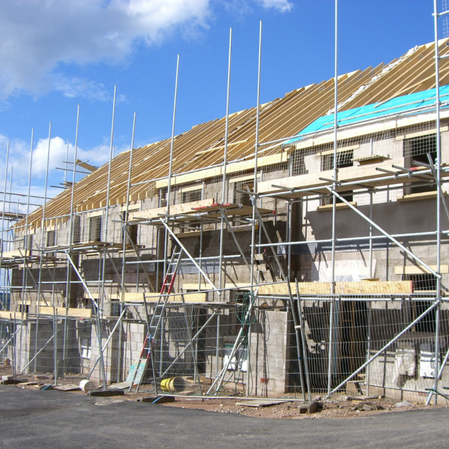A building construction; property investing
